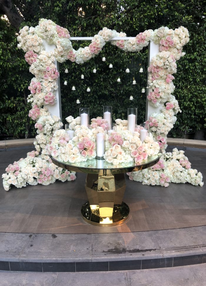 Best Candle Lighting Table Ideas Bar Bat Mitzvah Butterfly Floral