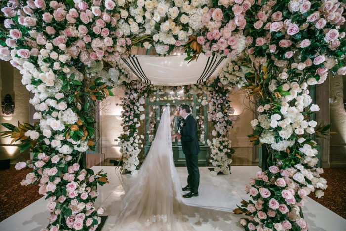 Best Wedding Chuppah Ideas with Greenery