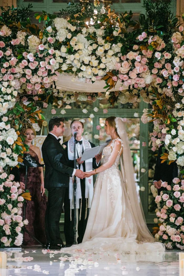 Wedding Chuppah in Millennium Biltmore