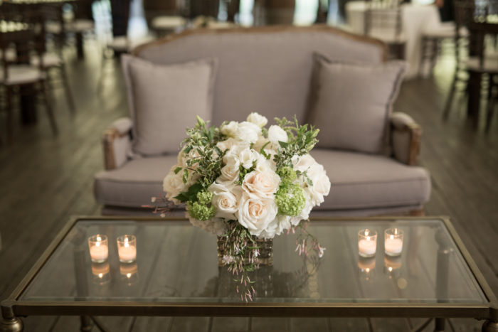 Sofa Coffee Table Rentals at Calamigos Ranch Wedding