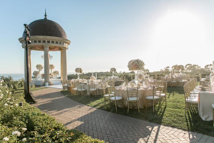 Wedding Reception at Pelican Hill