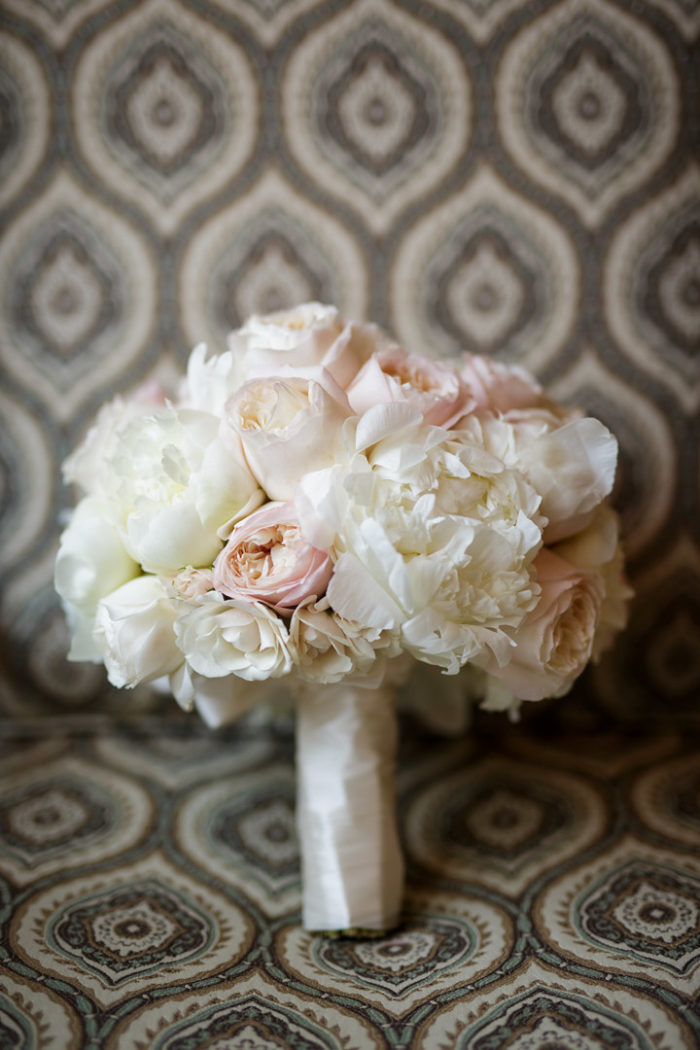 blush peony wedding bridal bouquet